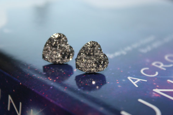 Space Rock Earrings