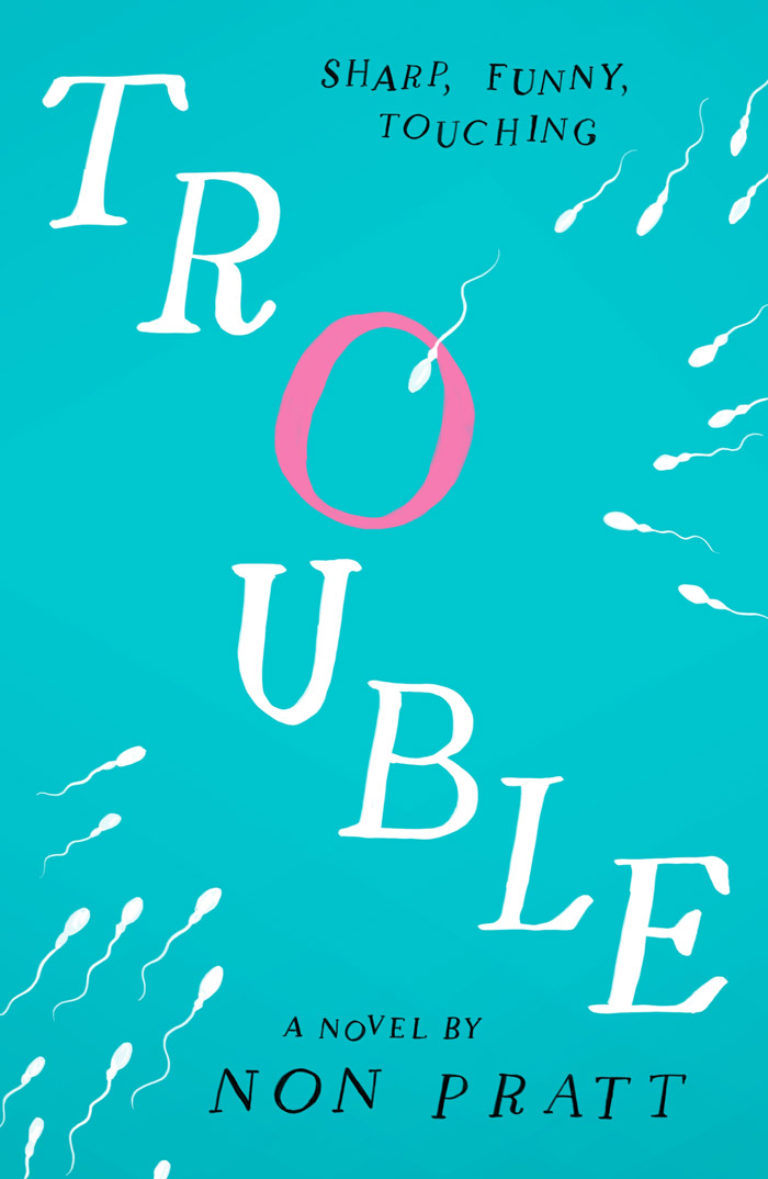 Trouble-by-Non-Pratt-Book-cover