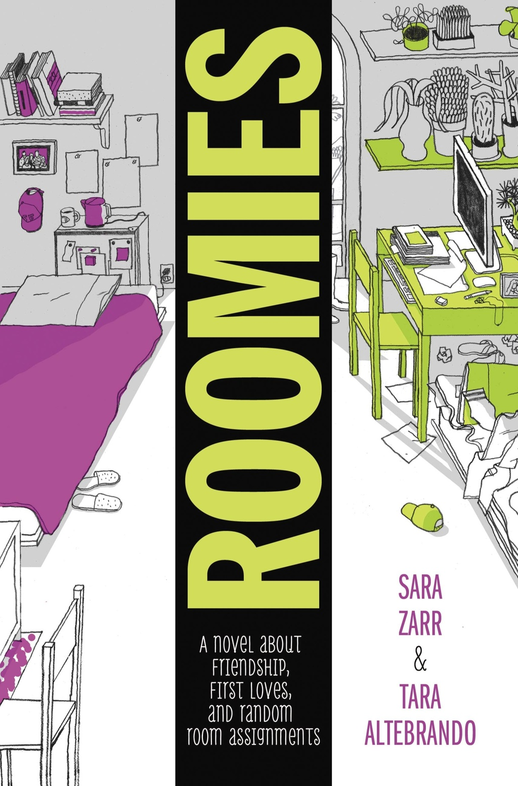 Roomies by Sara Zarr and Tara Altebrando
