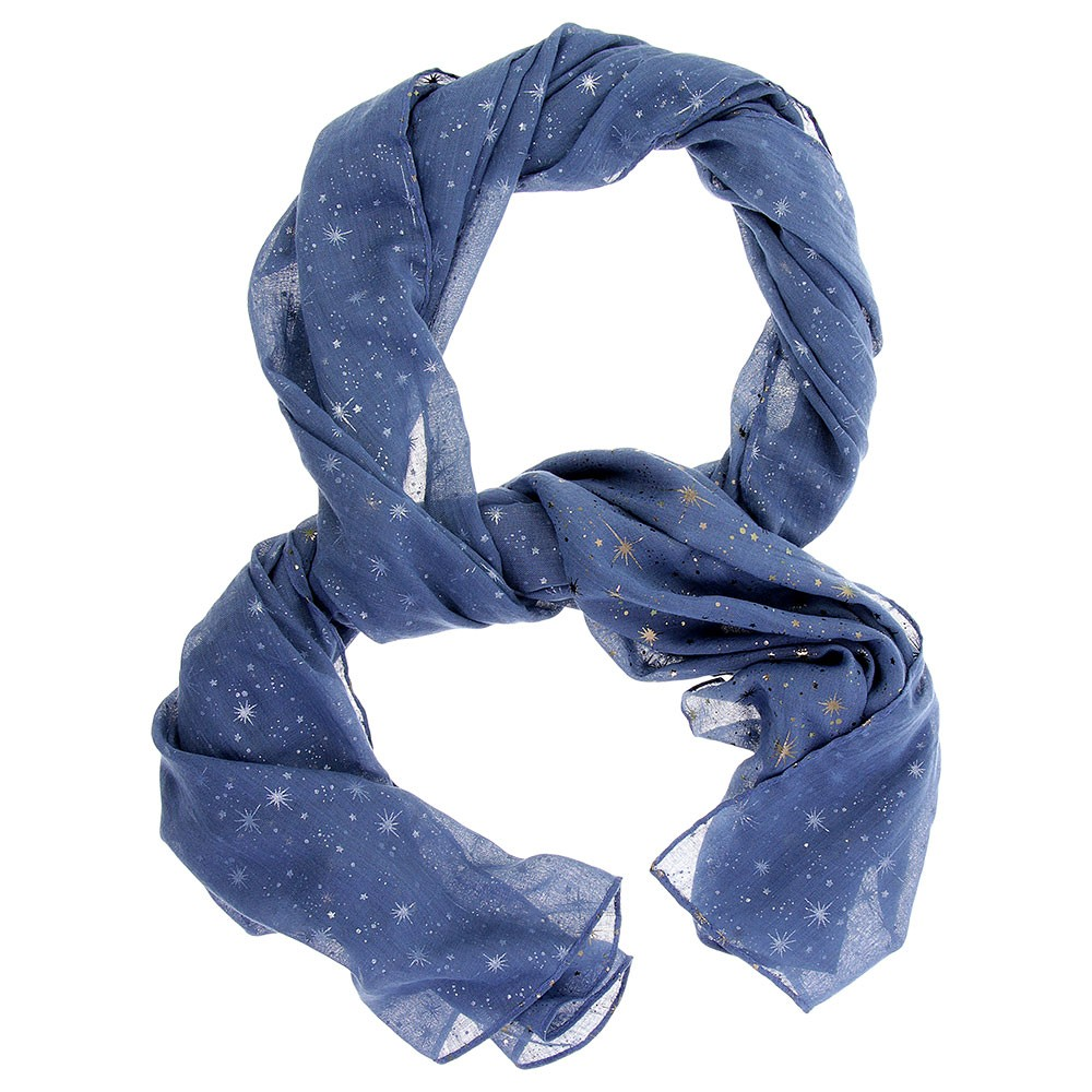 f20228-scarf-blue-star-metallic-foil-print-long-1