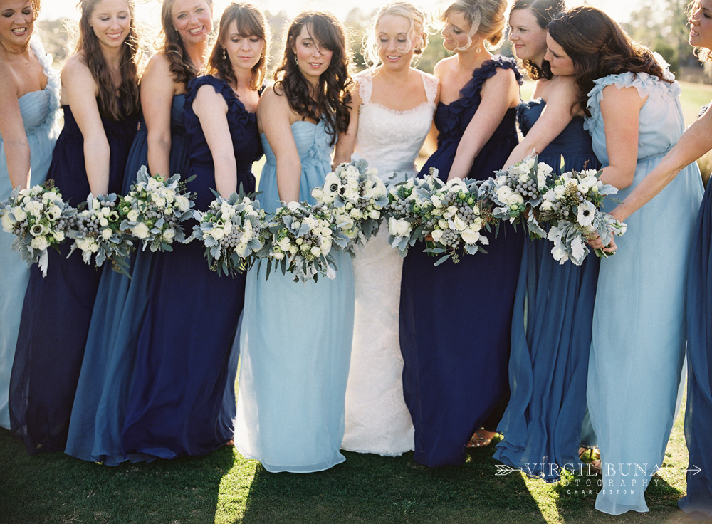 mismatched-navy-bridesmaids