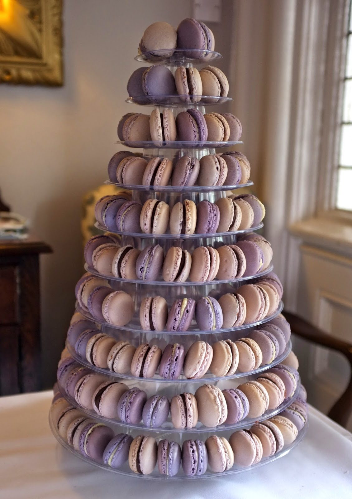 Macaron-tower-front