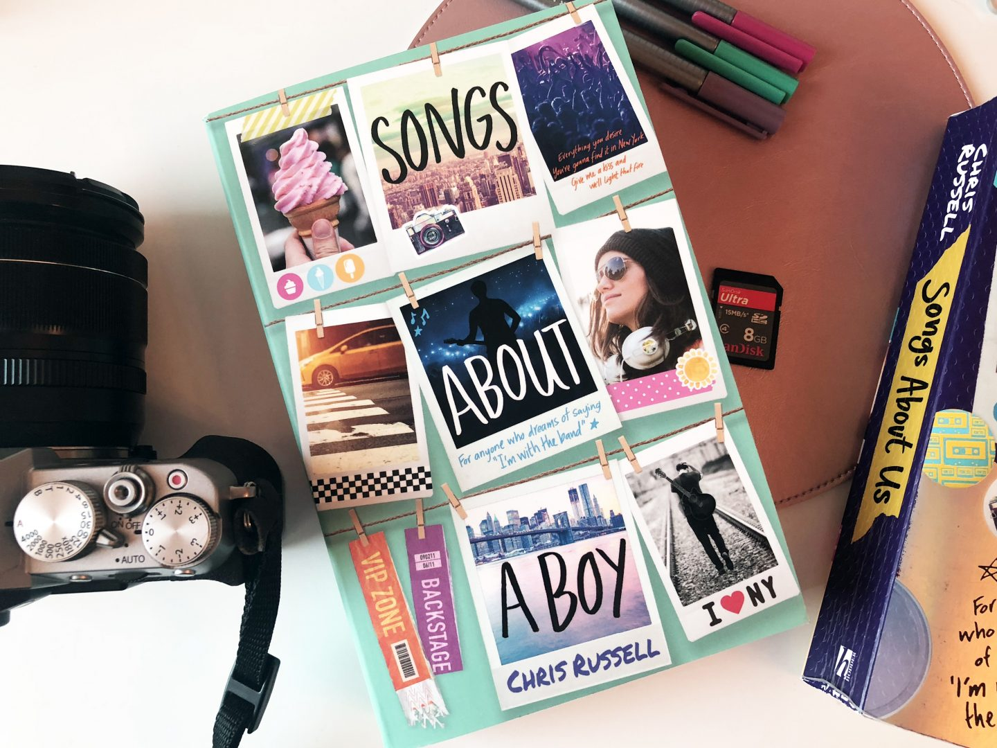 quality design 729c5 480ea Songs About A Girl author Chris Russell shares what it was like to say  goodbye to the trilogy s characters in the third book Songs About A Boy, ...