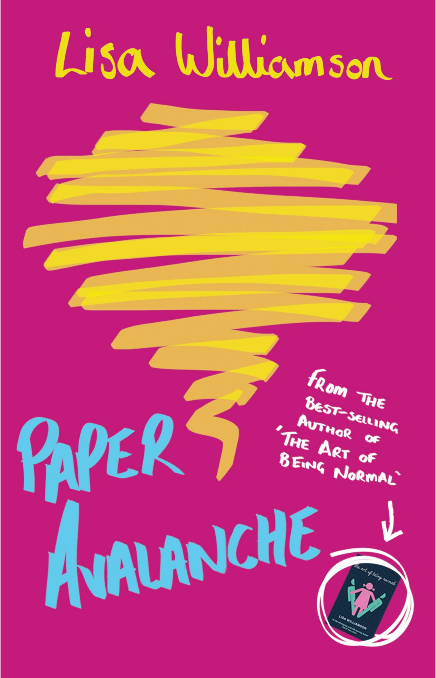 Review: Paper Avalanche by Lisa Williamson